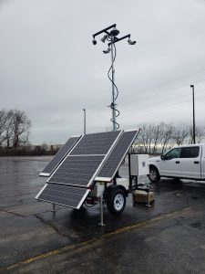 Mobile Solar Surveillance Towers